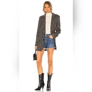 Grlfrnd denim Helena shorts size 26 BNWT